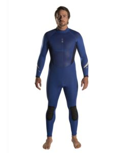 Blue Xenos mens 3mm Wetsuit Front